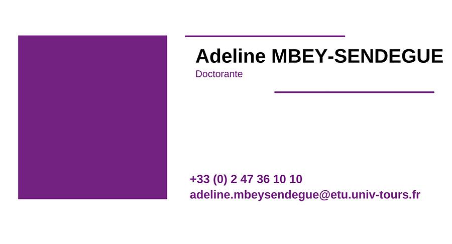 cv ADELINE-MBEY-SENDEGUE
