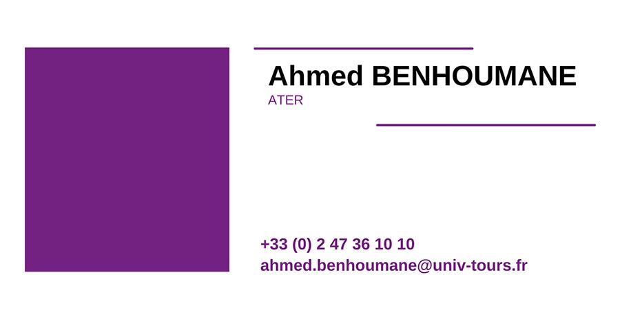 cv AHMED-BENHOUMANE