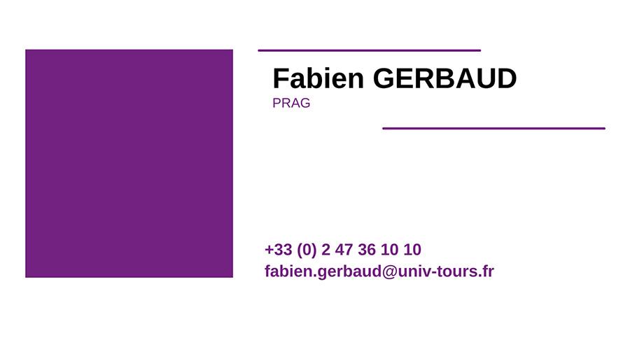 cv FABIEN-GERBAUD