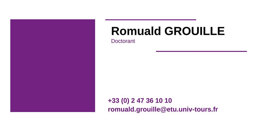 cv ROMUALD-GROUILLE