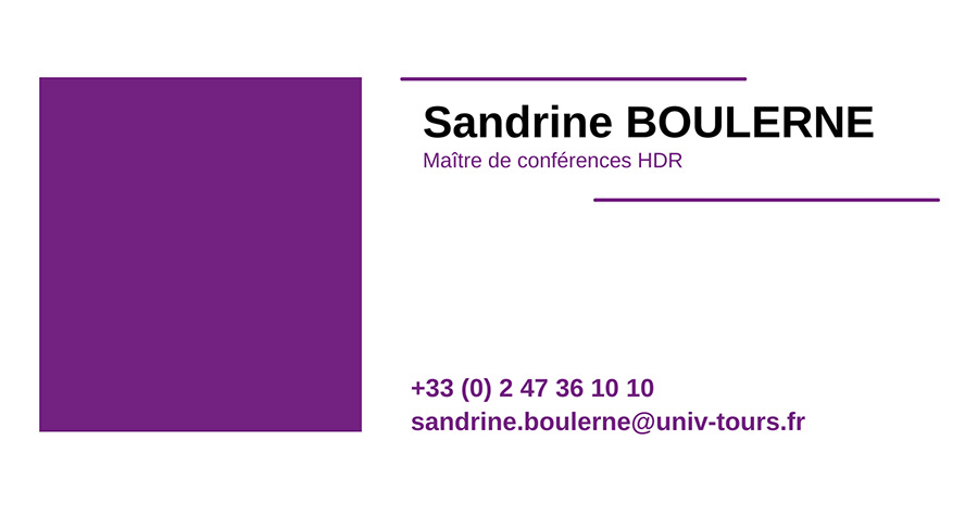 cv SANDRINE-BOULERNE