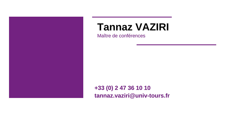 cv TANNAZ-VAZIRI