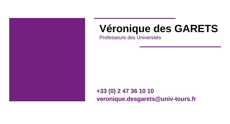 cv VERONIQUE-DES-GARETS