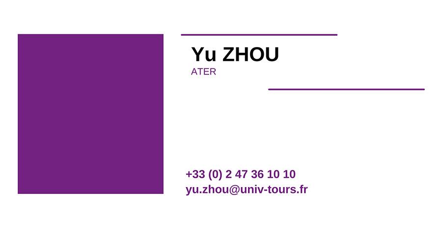 cv YU-ZHOU